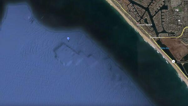 Na zdjęciach Google Earth znaleziono starożytne zatopione miasto - Sputnik Polska