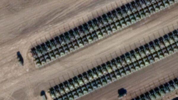 Zdjęcia satelitarne z Defence Blog - Sputnik Polska