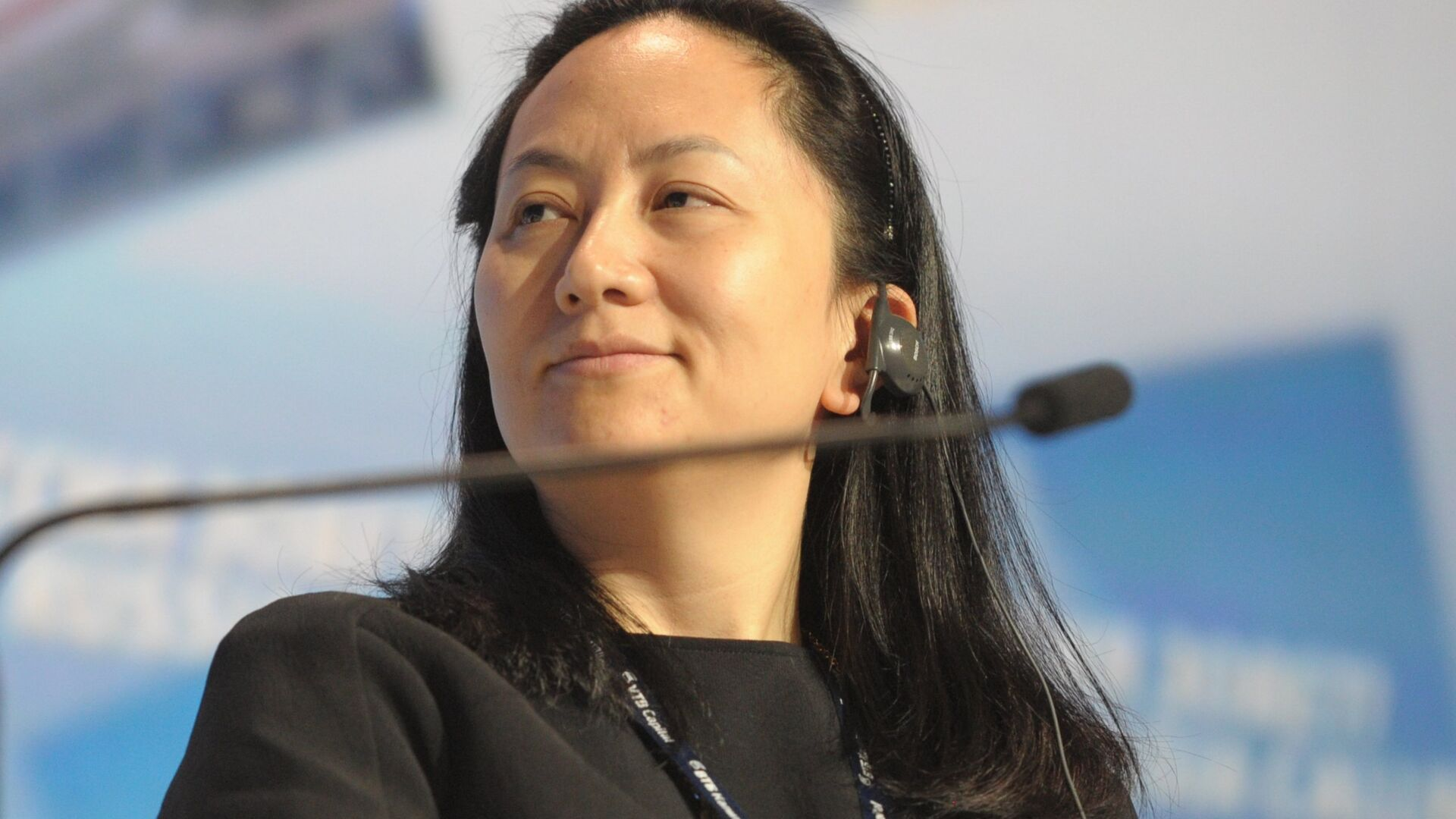 Meng Wanzhou, Chief Executive Officer, Huawei Technologies, attending the 6th Annual VTB Capital Investment Forum Russia Calling at the World Trade Center, October 2, 2014 - Sputnik Polska, 1920, 25.09.2021