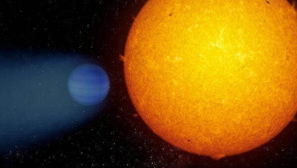 Planeta z chmurą helową WASP-69b - Sputnik Polska