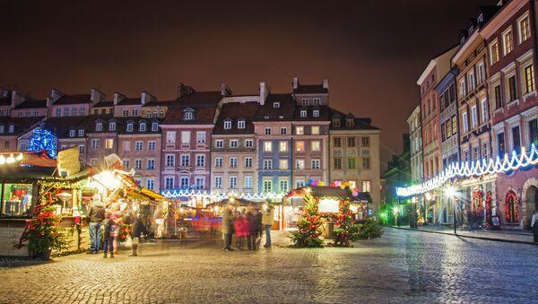 Jarmark bożonarodzeniowy w Warszawie - Sputnik Polska