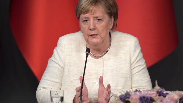 Angela Merkel - Sputnik Polska