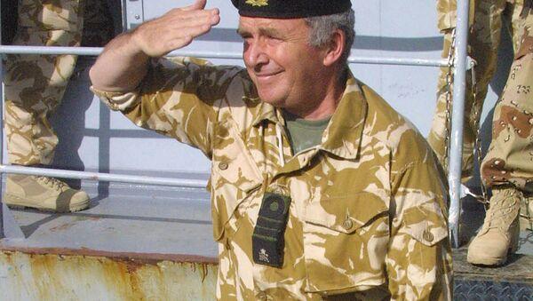 Brytyjski admirał Alan West - Sputnik Polska