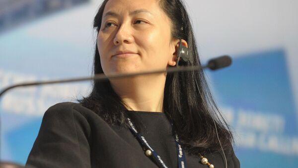 Główny dyrektor wykonawczy Huawei Technologies Meng Wanzhou - Sputnik Polska