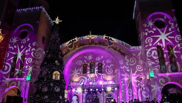 Boże Narodzenie w Latakii - Sputnik Polska