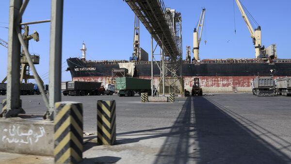 Port Hudajda, Jemen - Sputnik Polska