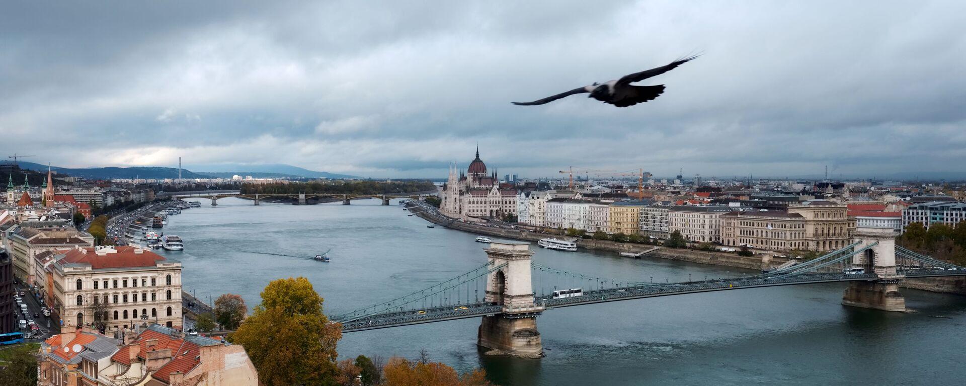 Rzeka Dunaj w Budapeszcie - Sputnik Polska, 1920, 30.09.2021