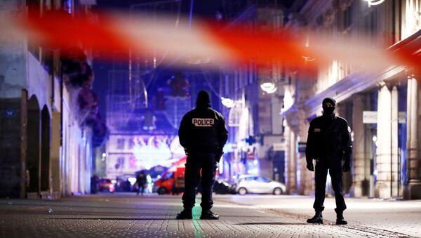 Zamach w Strasburgu - Sputnik Polska