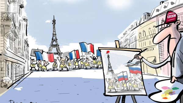 Banksy się chowa! - Sputnik Polska