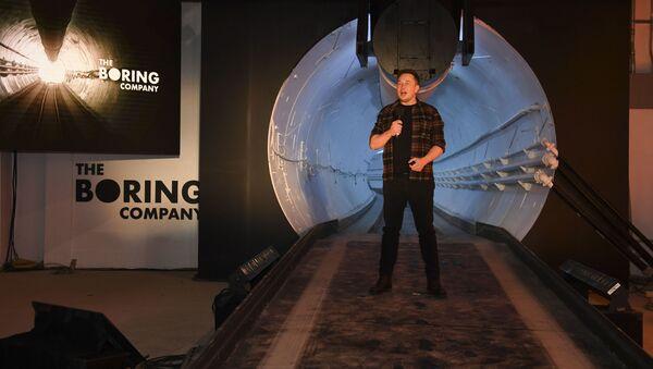 Otwarcie pierwszego podziemnego tunelu szybkiego ruchu pod Los Angeles - Sputnik Polska
