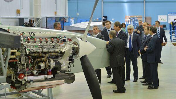 Rosyjski dron bojowy Altius - Sputnik Polska