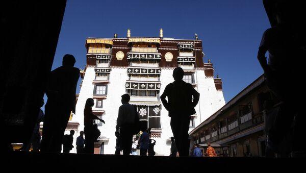 Turyści w Tybecie - Sputnik Polska