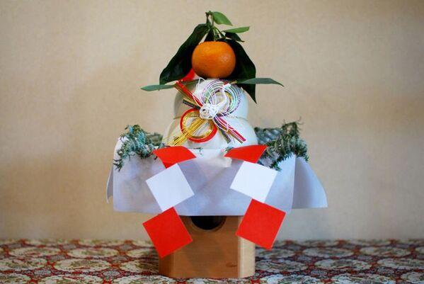 Japońskie ciasto kagami-mochi - Sputnik Polska