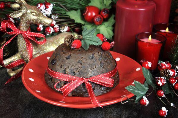 Christmas pudding – tradycyjne angielskie danie bożonarodzeniowe - Sputnik Polska