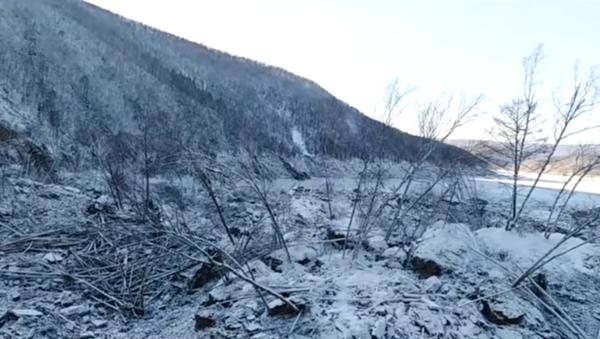 Miejsce upadku meteorytu w Chabarowsku - Sputnik Polska