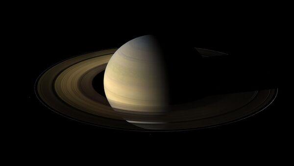 Zdjęcie Saturna zrobione przez sondę Cassini - Sputnik Polska