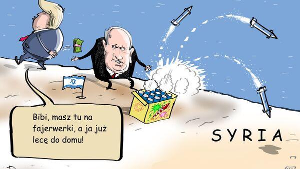 A to na bożonarodzeniowe fajerwerki - Sputnik Polska