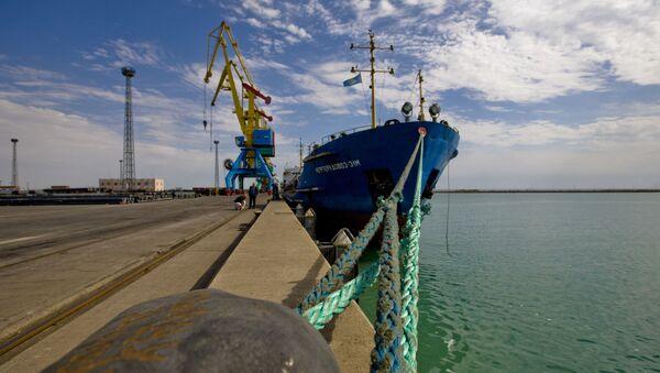 Port Aktau w Kazachstanie - Sputnik Polska