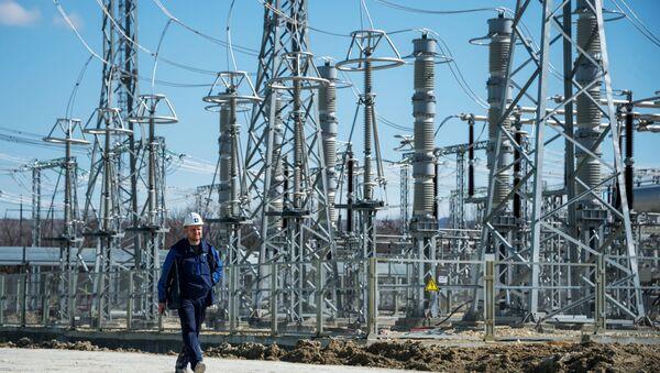 Taurydzka elektrociepłownia na Krymie - Sputnik Polska