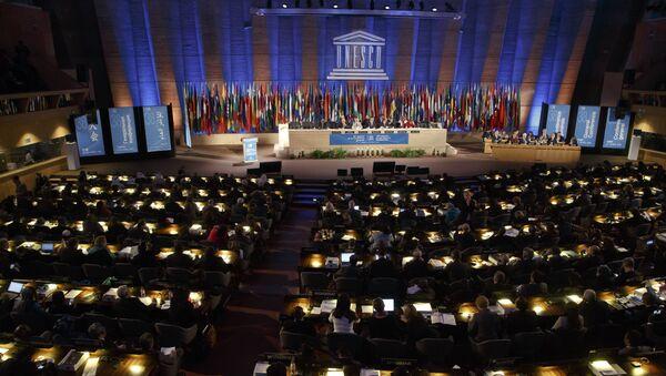 Posiedzenie państw członkowskich UNESCO w Paryżu - Sputnik Polska