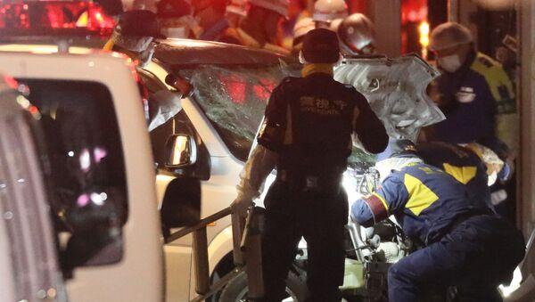 Zamach w sylwestrową noc w Tokio - Sputnik Polska