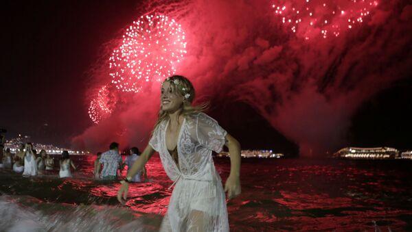 Noc Sylwestrowa w Rio de Janeiro - Sputnik Polska