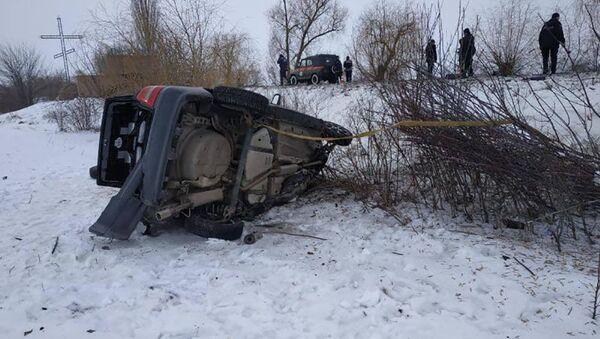 Osiem osób, w tym troje dzieci, zginęło w wypadku w obwodzie mikołajowskim w południowej części Ukrainy. - Sputnik Polska