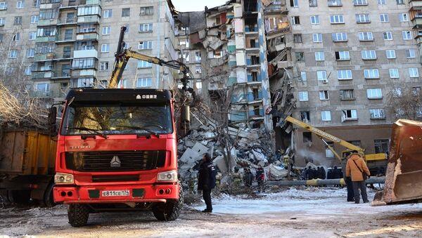 Tragedia w Magnitogorsku - Sputnik Polska