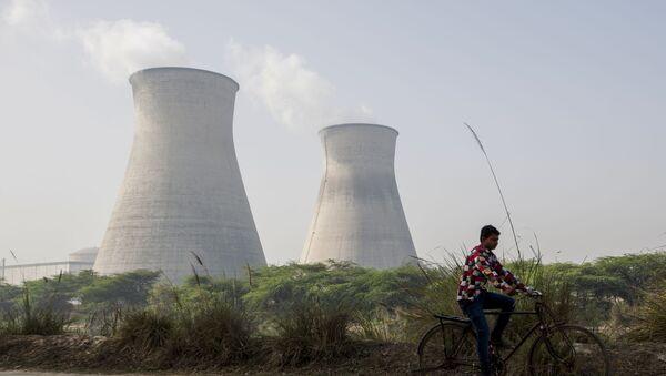 Elektrownia atomowa w Indiach - Sputnik Polska