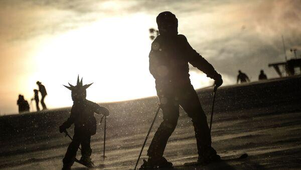 Ośrodek narciarski Soroczany pod Moskwą  - Sputnik Polska