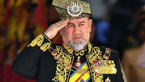 Król Malezji Muhammad V - Sputnik Polska
