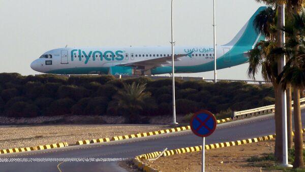Samolot saudyjskich linii Flynas - Sputnik Polska