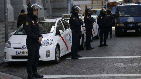 Spanish police - Sputnik Polska