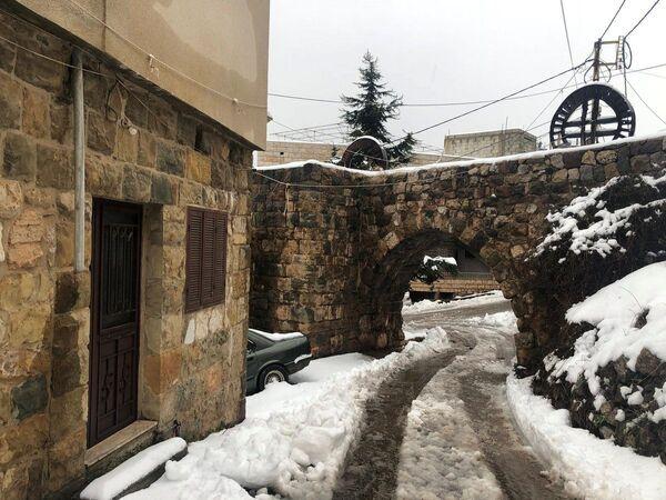 Śnieg w Libanie - Sputnik Polska