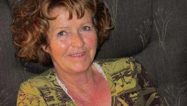 Żona norweskiego milionera Anne-Elisabeth Falkevik Hagen - Sputnik Polska