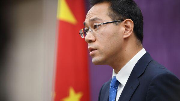 Rzecznik Ministerstwa Handlu Chin Gao Feng - Sputnik Polska