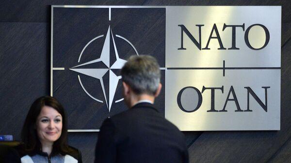 Kwatera Główna NATO w Brukseli - Sputnik Polska