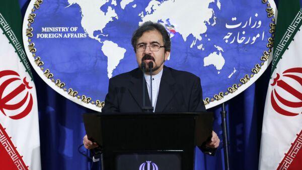 Rzecznik irańskiego ministra spraw zagranicznych Bahram Qasemi - Sputnik Polska