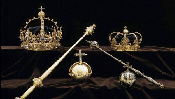 Korona króla Szwecji Karola IX Wazy - Sputnik Polska