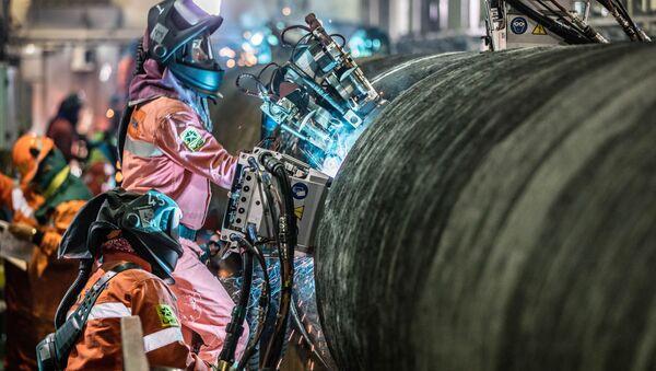 Budowa Nord Stream 2 - Sputnik Polska