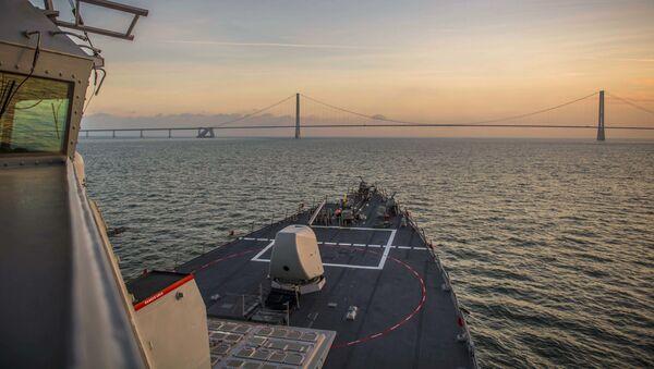 Niszczyciel Marynarki Wojennej USA USS Porter - Sputnik Polska