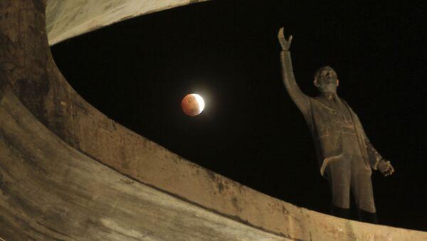 Zaćmienie Księżyca w Brazylii - Sputnik Polska