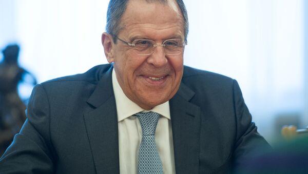Minister spraw zagranicznych Federacji Rosyjskiej Siergiej Ławrow - Sputnik Polska