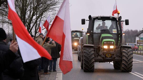 Protesty polskich rolników - Sputnik Polska