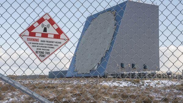 Amerykański radar przeciwrakietowy Cobra Dane na Alasce - Sputnik Polska
