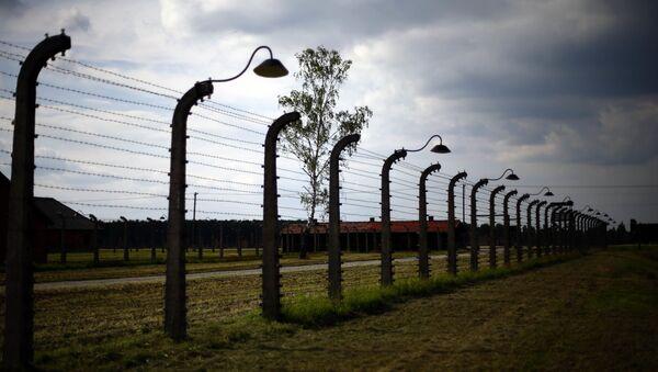 Były nazistowski obóz koncentracyjny Auschwitz-Birkenau - Sputnik Polska