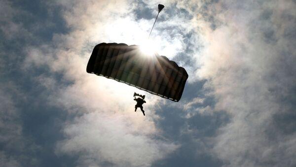 Żołnierz armii USA na ćwiczeniach z Japonią - Sputnik Polska