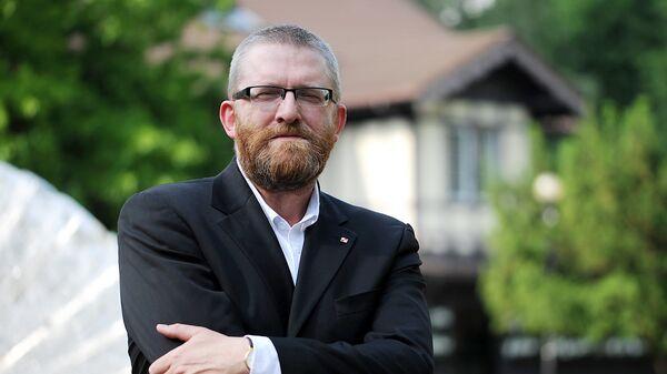 Reżyser i publicysta Grzegorz Braun - Sputnik Polska