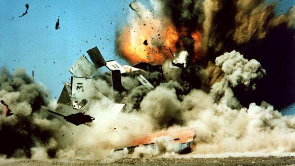 Testy amerykańskiego pocisku manewrującego Tomahawk - Sputnik Polska