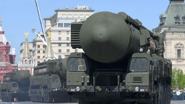 Mobilny kompleks rakietowy przeznaczenia strategicznego Jars - Sputnik Polska